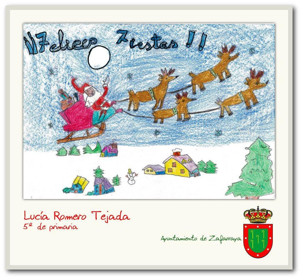 Concurso de postales navideñas Zafarraya 2016